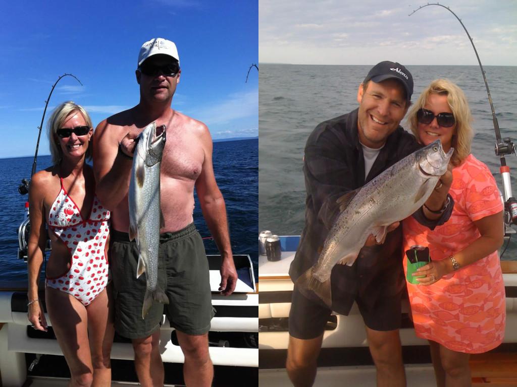 Fishing on Lake Superior